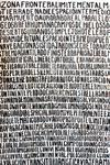 Carbon y tinta china sobre papel acuarela. 2,50 x1,50 metros. 2014.
