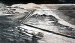 Carbon y tinta china sobre papel acuarela. 3 x1,50 metros. 2014.